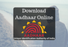 Aadhar Card Download Kaise Kare