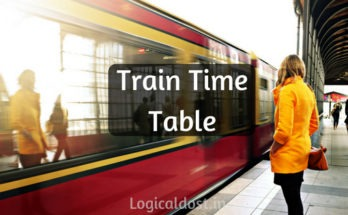Train Time Table Kaise Dekhe