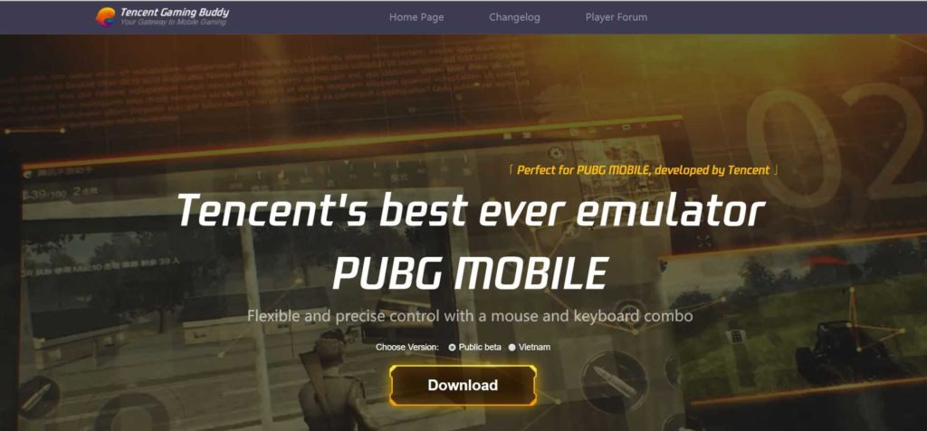 Tencent Gaming Buddy For PUBG PC