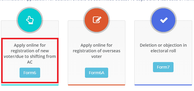 apply online for new voter id
