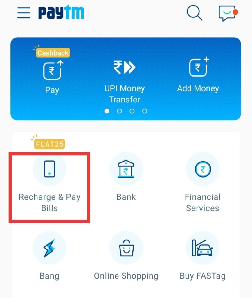 Paytm DTH Recharge