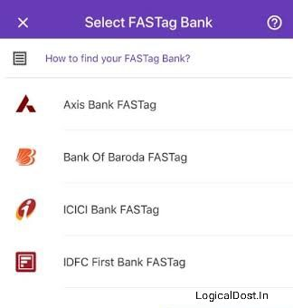 fastag recharge via phonepe